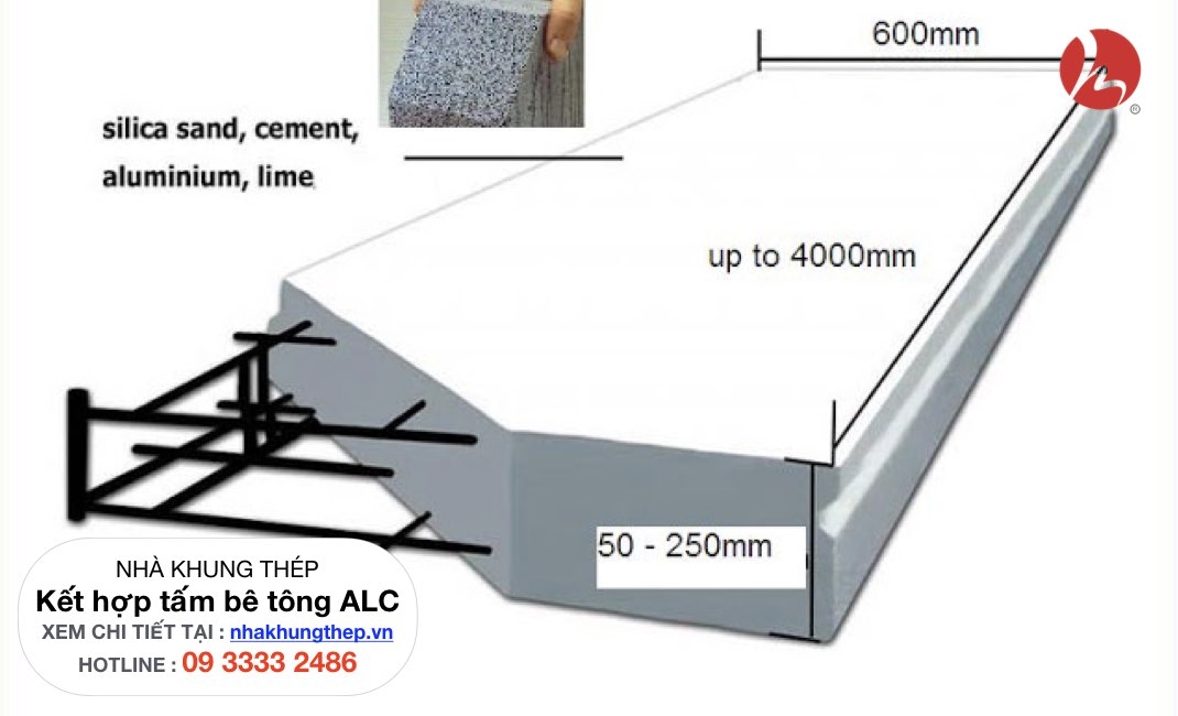 tấm bê tông ALC